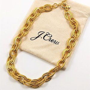 NEW J Crew Chunky Chain Necklace